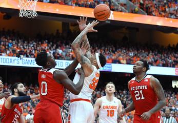 NCAA Basketball: North Carolina State at Syracuse