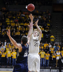 NCAA Basketball: Utah State at Wyoming