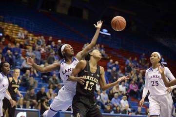 NCAA Womens Basketball: Baylor at Kansas