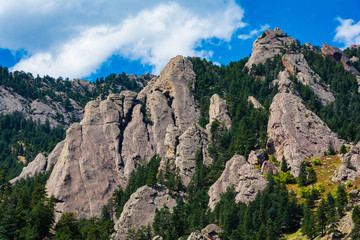 Flatirons Boulder Colorado Rocks