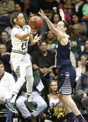 NCAA Womens Basketball: Connecticut at South Florida