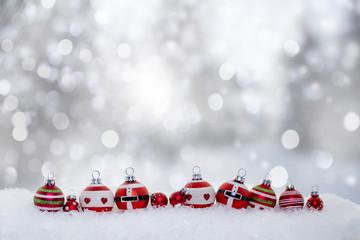 Winter Weihnachten Karte