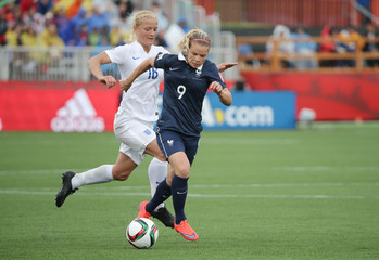 Soccer: Women's World Cup-France at England