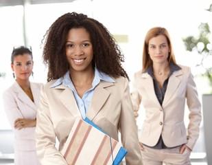 Portrait of afro-american businesswoman
