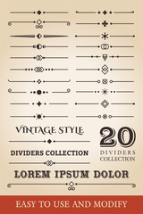 DIVIDERS COLLECTION