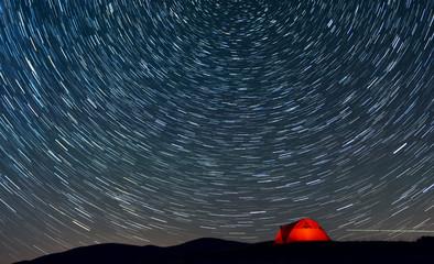 Yıldızlar Altında Çadır Keyfi