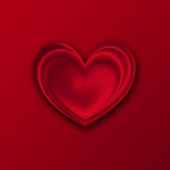 Vector Heart Symbol. Valentine's day background. Vector illustration.