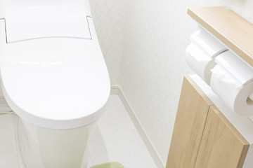 新築のトイレ