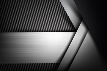 Abstract background dark with carbon fiber texture vector illustration eps10 026