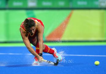 Olympics: Hockey-Women's Quarterfinal-Spain vs Great Britain
