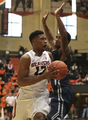 NCAA Basketball: Nevada at Oregon State