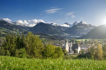 Cityscape of Kitzbuhel, Austria