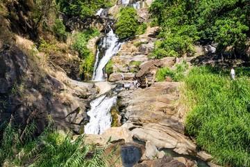 Ravana waterfall near Ella in Sir Lanka