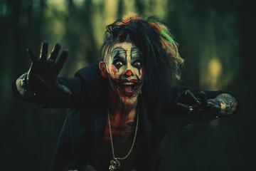 punk rock clown