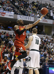 NCAA Basketball: Big Ten Conference Tournament-Maryland vs Michigan State