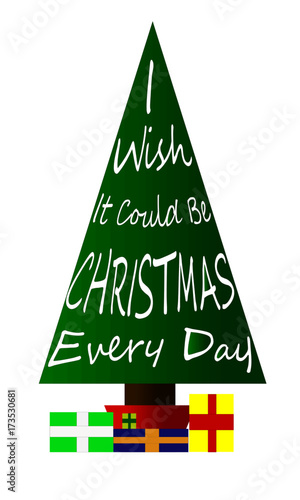 Image result for i wish it could be christmas everyday