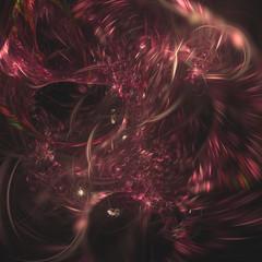 background fractal world