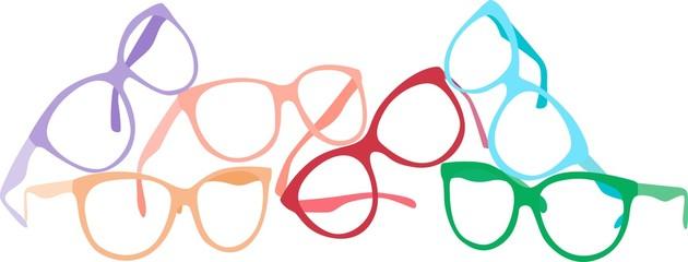 Optics glasses set