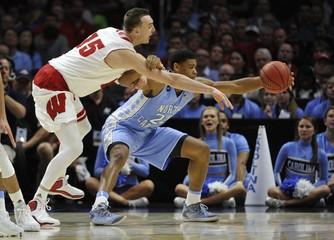 NCAA Basketball: NCAA Tournament-West Regional-Wisconsin vs North Carolina