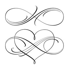 Infinite love symbols
