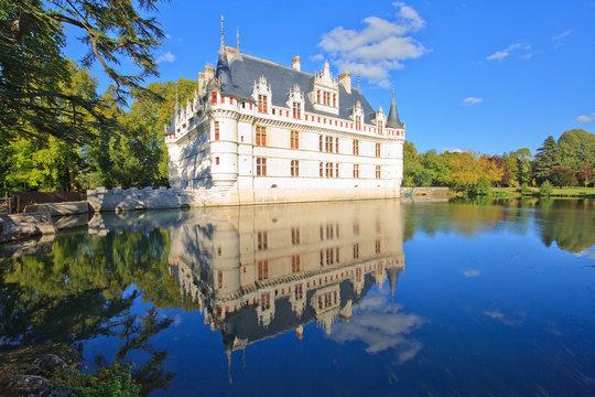 Azay-le-Rideau, château de la Loire