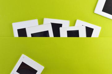 photo slides horizontal template