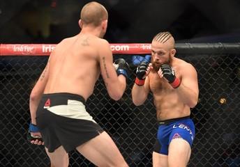 MMA: UFC 203-Lentz vs McBride