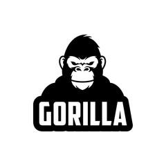Gorilla illustration vector