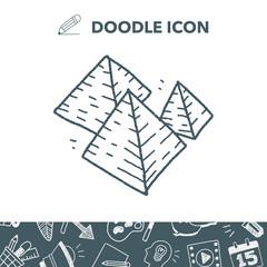 Pyramid doodle
