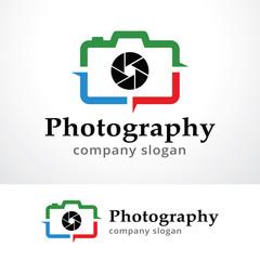 Photography Logo Template Design Vector, Emblem, Design Concept, Creative Symbol, Icon
