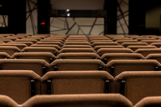 Empty Sanctuary of Modern Church