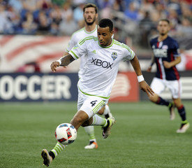 MLS: Seattle Sounders FC at New England Revolution