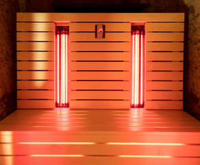 The infrared sauna