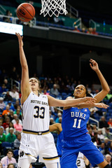 NCAA Womens Basketball: ACC Conference Tournament-Notre Dame vs Duke