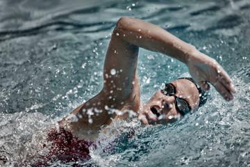High speed swimming