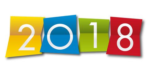 2018 - année - carte de vœux - présentation - entreprise - challenge - bilan - objectif