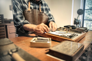Using tools in an artisan's lab