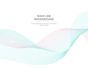 Elegant abstract vector web gradient wave line futuristic style background template