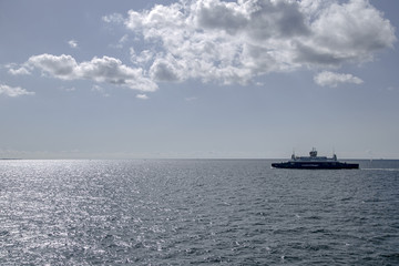 The ferry. Shot in Denmark