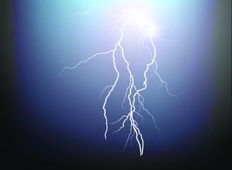thunder lightning nigh sky