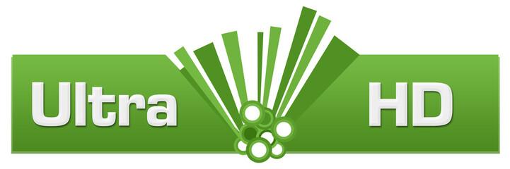 Ultra HD Green Graphic Center
