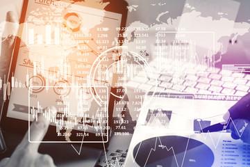 Future and finance concept