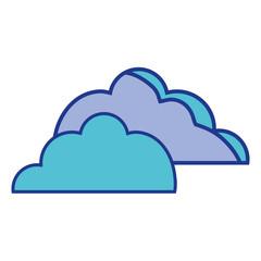 nice clouds natural weather design