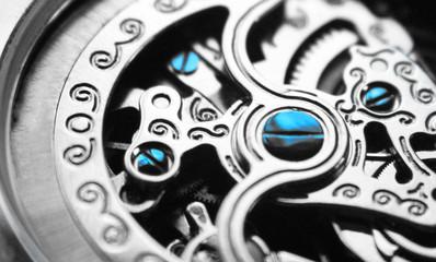 Mechanical Watch Close Up High Quality
