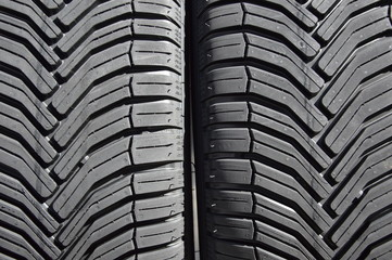 New tires for a car