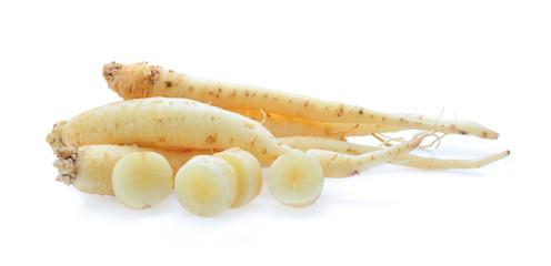ginseng isolated on white background