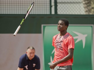 Tennis: French Open Tiafoe vs Klizan