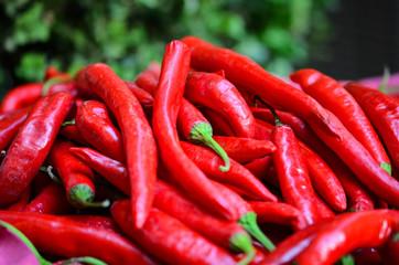 paprika close up - fresh vegetables