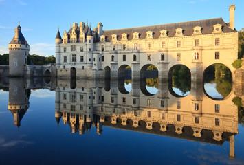 Fotobehang Kasteel chenonceau, château de la Loire