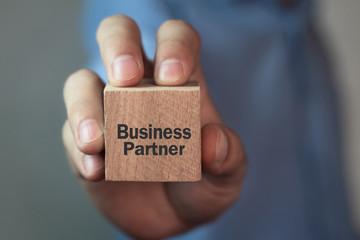 Wall Mural - Business Partner